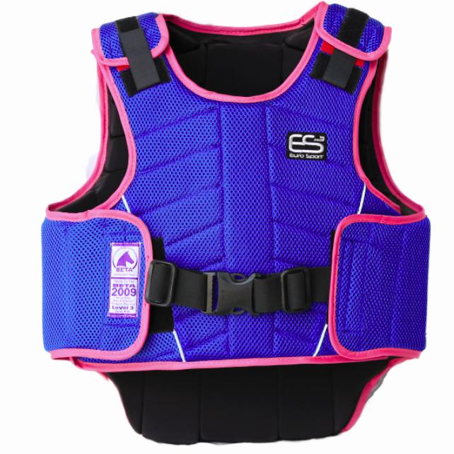 Euro Sport Body Protector Kids - Blue & Pink