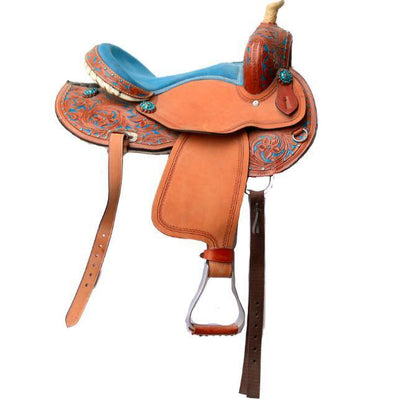 77a6eb20086cd4 Quick View · Blue Pony Western Saddle ...