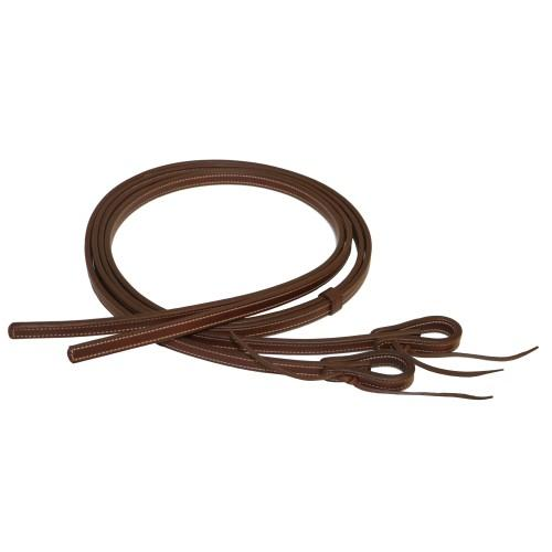 "Fort Worth Heavy Harness Reins 5/8"" x 7' Tan-Fort Worth"