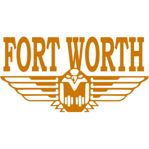 Fort Worth Aluminium Oxbows w/Rubber Treads-Fort Worth