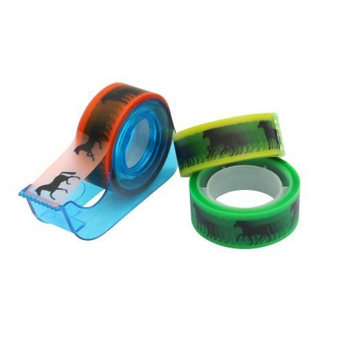 Sticky Tape Dispenser with Coloured Tape-STC
