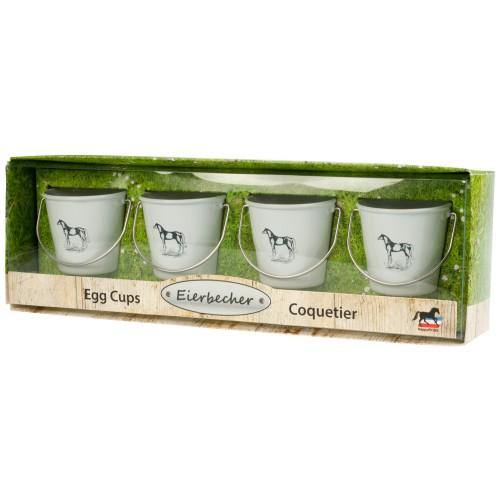 Feed Bucket Design Egg Cups Set of 4-STC