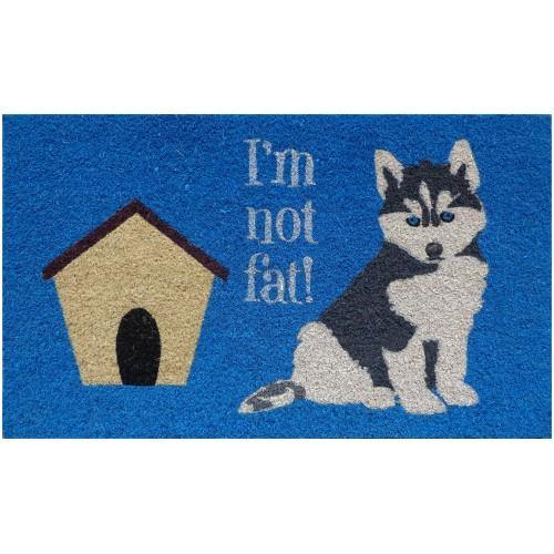 Door Mat - I'm Not Fat!-STC