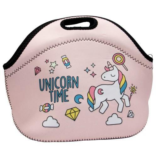 Unicorn Lunch Bag Pink-STC
