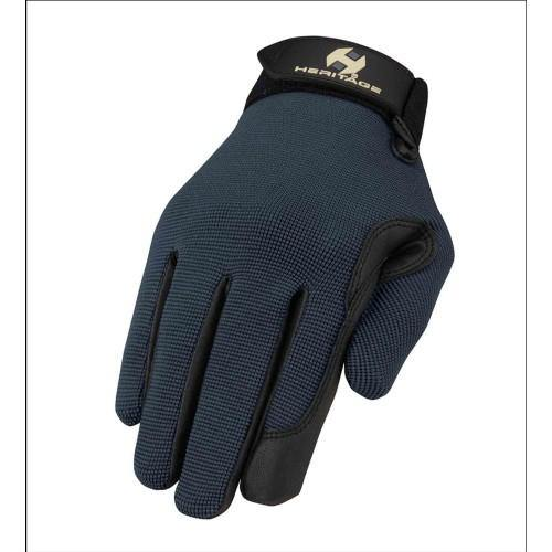Heritage Performance Gloves Steel Blue-Heritage
