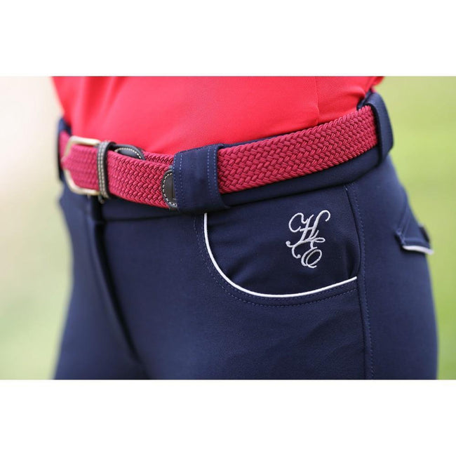 Active Ladies Jodhpurs Navy-Huntington