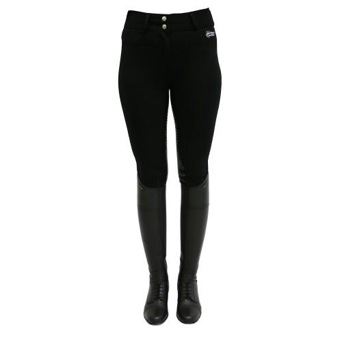 High-Waisted Breeches with Gel Seat-Huntington