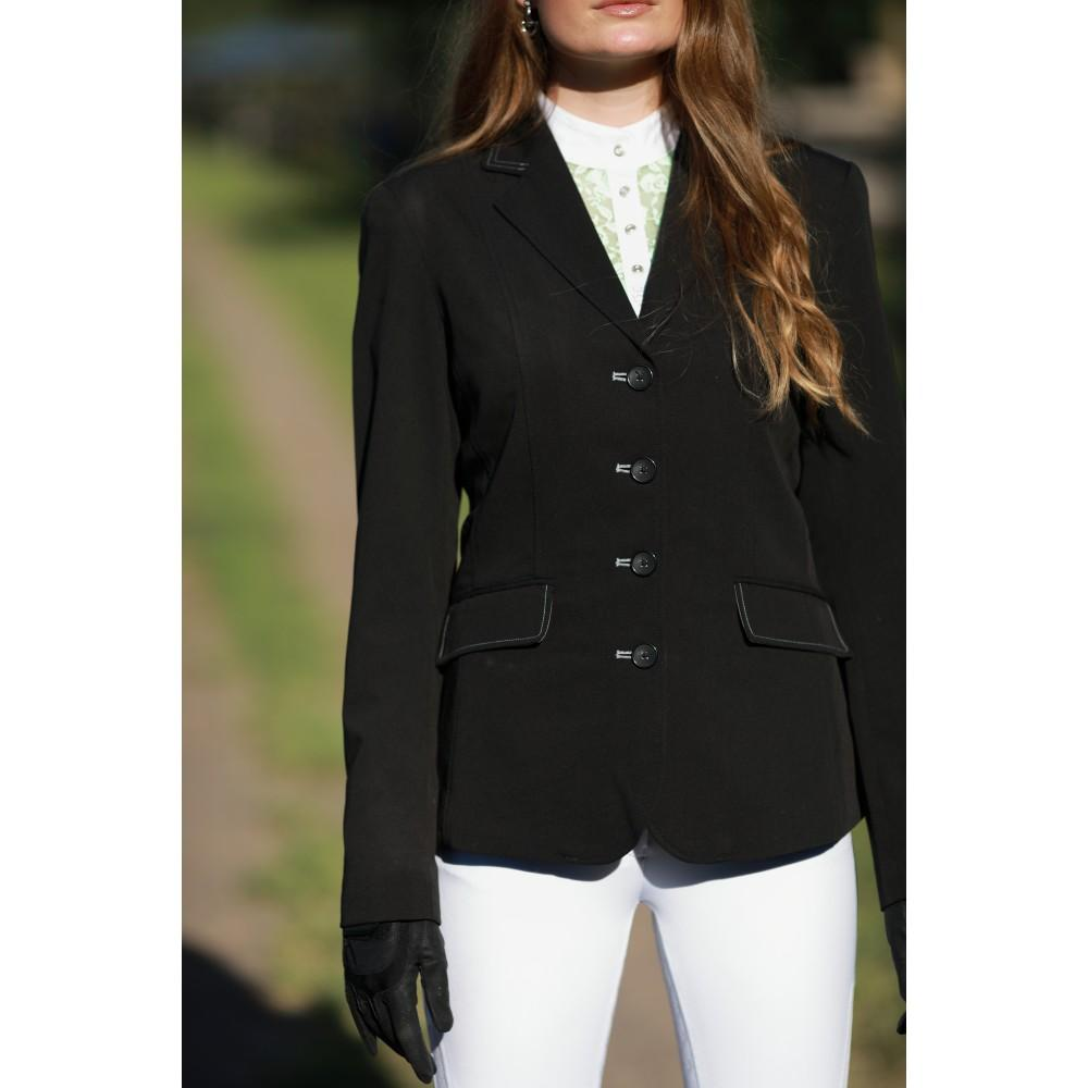 Equestrian Show Horse Riding Jacket Black-Huntington
