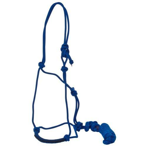 Knotted Rope Halter & Lead-STC