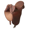 Syd Hill Stock Saddle - Silver Leather-Syd Hill & Sons