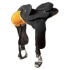 Synthetic Syd Hill Half Breed Saddle - Adjustable Tree-Syd Hill & Sons