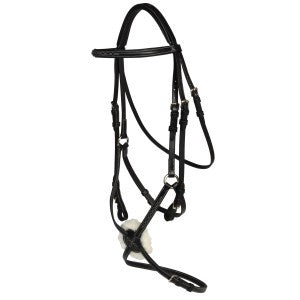 Norfolk Figure Eight Bridle-Norfolk
