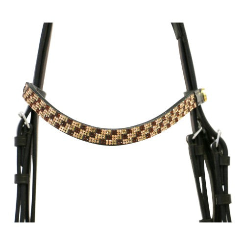 Dressage Bridle with Bling-Jeremy & Lord