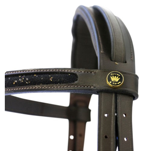 Crystal Snaffle Bridle-Jeremy & Lord