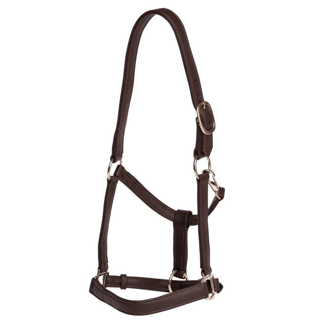 Soft Touch Leather Halter-Jeremy & Lord