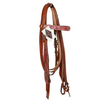Western Headstall - Pink-Ascot Equestrian