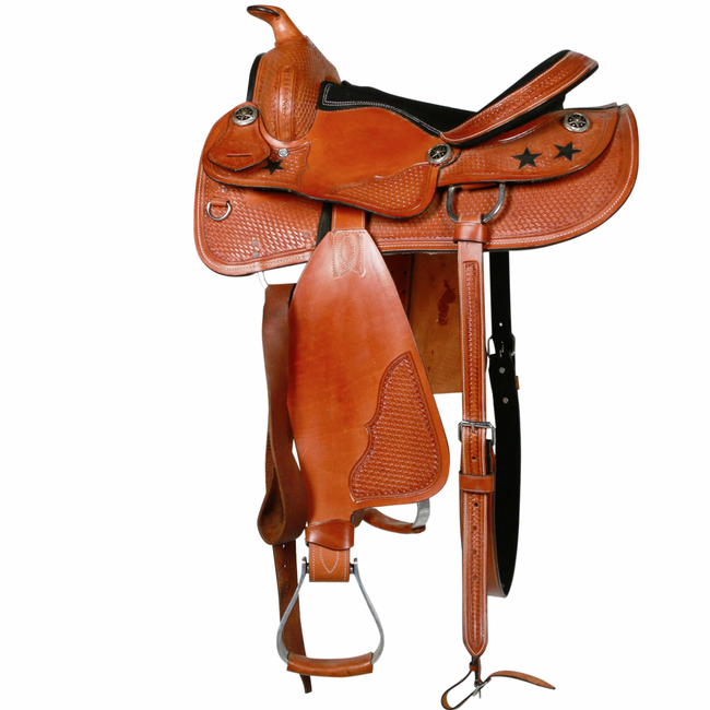 Lazy River Western Saddle-Ascot Equestrian