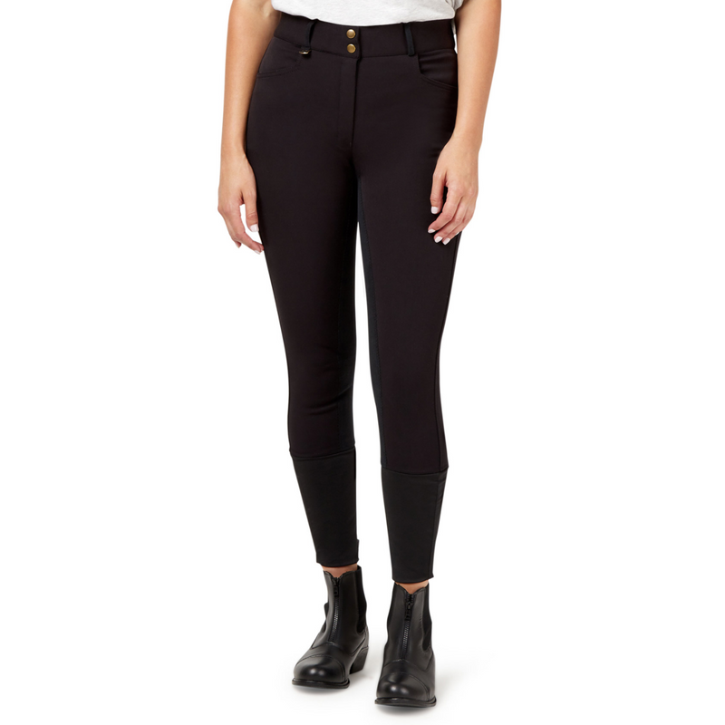 Ascot Excellence Breeches - Black-Ascot Equestrian