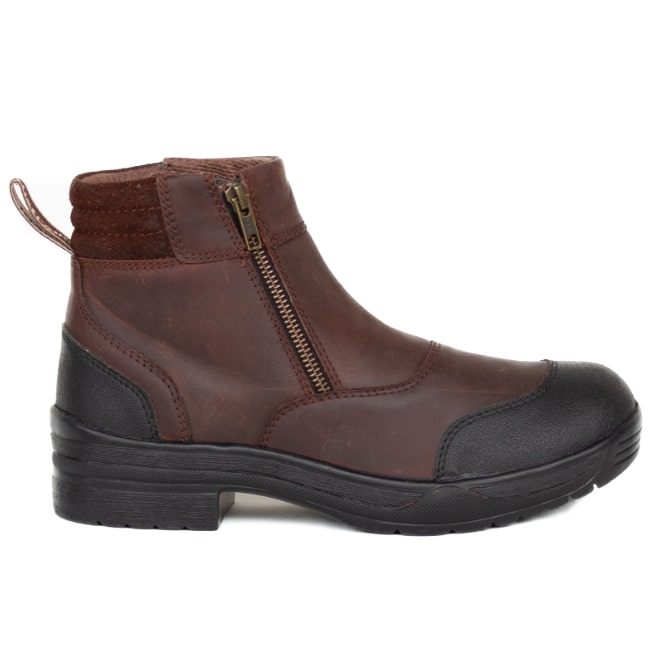 Brown Yard Boots-Ascot Equestrian
