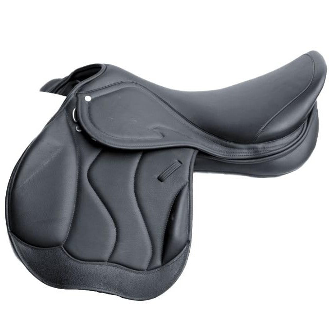 Ascot Crossover Jump Saddle Black (Basic)