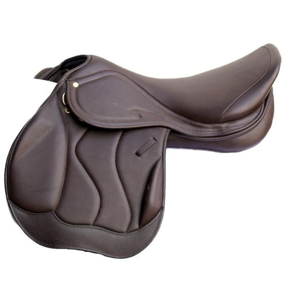 Ascot Crossover Jump Saddle Brown (Basic)