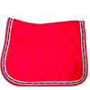 Diamond Quilted All Purpose Pad - Red-Ascot Equestrian