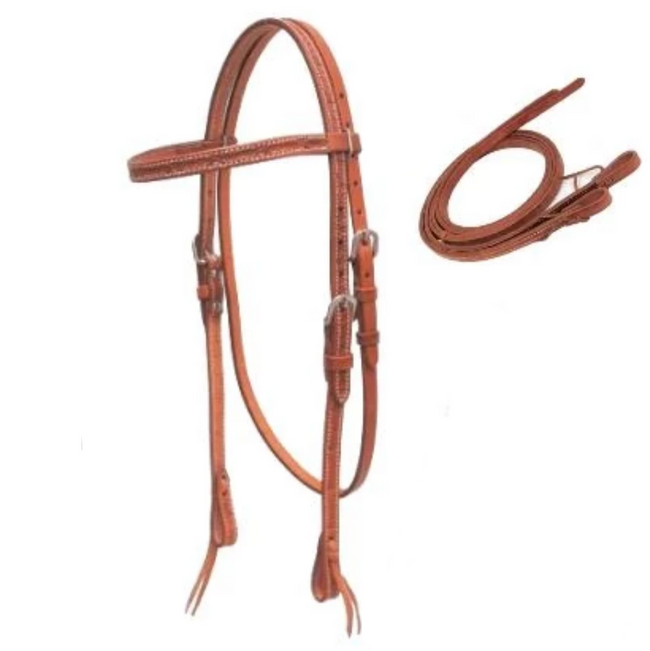 Tooled Western Bridle