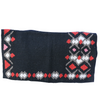 Heavy Duty Wool Blanket - Black/Red