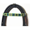 Embroidered Bridle & Rubber Grip Reins