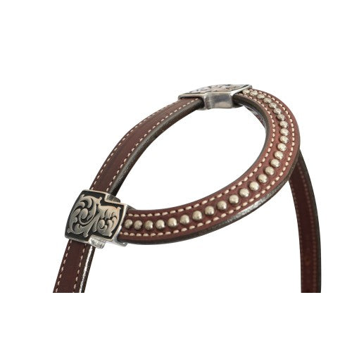 Weaver Austin Collection Sliding Ear Headstall-WEAVER LEATHER