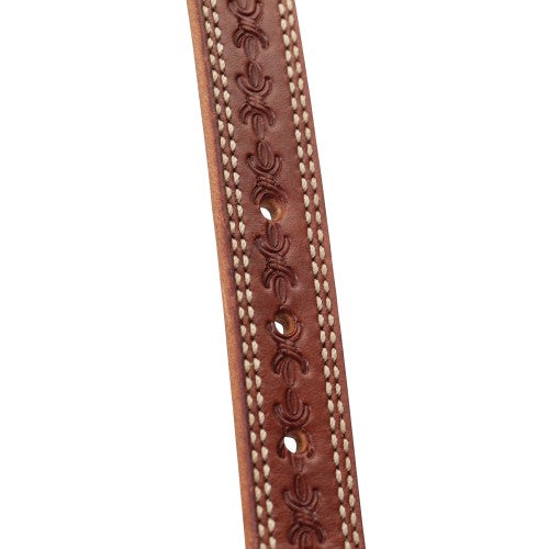 Weaver Barbed Wire Collection Split Ear Headstall-WEAVER LEATHER