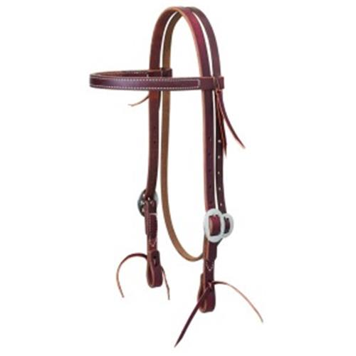 Weaver Cowboy Hand Tooled Headstall-ACAVALLO