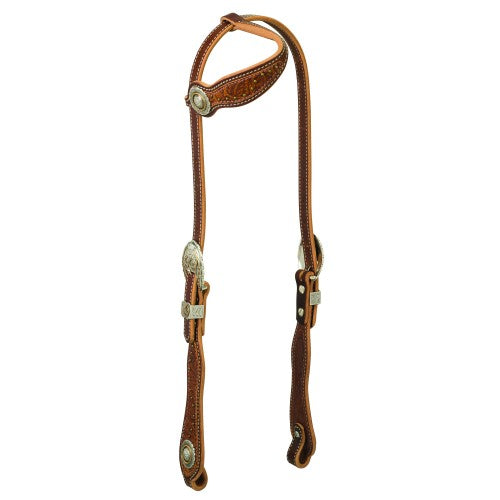 Horse     Western Products     Headstalls & Bridles     Weaver Western Edge Collection Sliding Ear Headstall  Weaver Western Edge Collection Sliding Ear Headstall