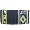 Heavy Duty Wool Blanket - Black/Yellow