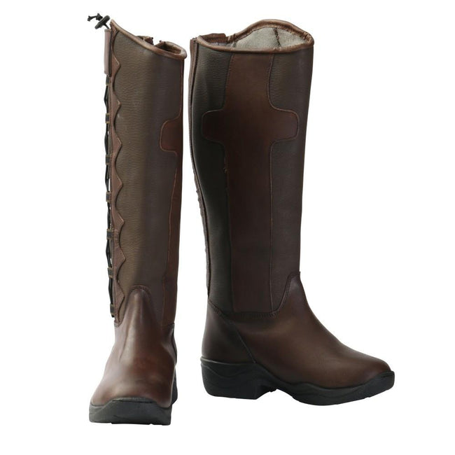 Brown Long Boots-Schumaakar