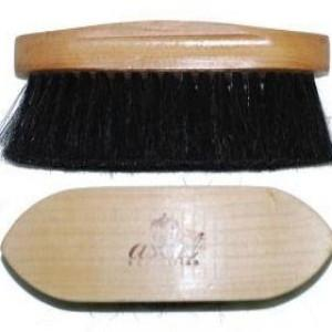 Wooden Horse Hair Brush-Ascot Equestrian