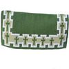 Heavy Duty Wool Blanket - Green Cross