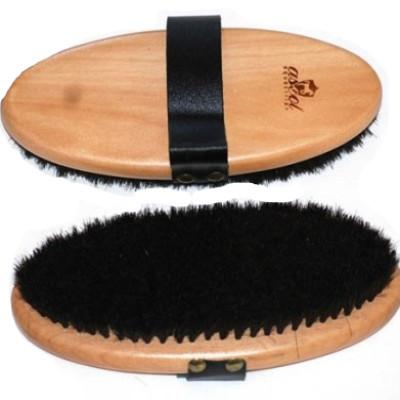 Leather Strap Horse Brush-Ascot Equestrian