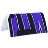 Navajo Cut Back Saddle Blanket - Purple-Ascot Equestrian