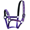 Padded Horse Halter - Purple