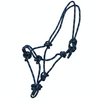 Adjustable Rope Halter - Green-Ascot Equestrian