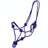 Adjustable Rope Halter - Purple-Ascot Equestrian