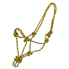 Adjustable Rope Halter - Yellow-Ascot Equestrian