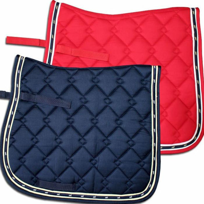 Diamond Quilted All Purpose Saddle Pad-Ascot Equestrian