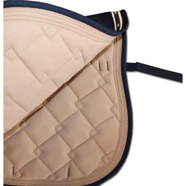 Diamond Quilted All Purpose Pad - Navy-Ascot Equestrian