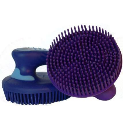 Soft Handle Curry Comb-Ascot Equestrian