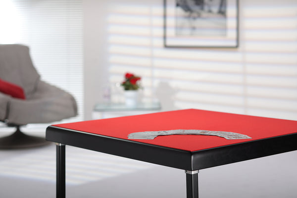 Colourful card tables for modern apartments