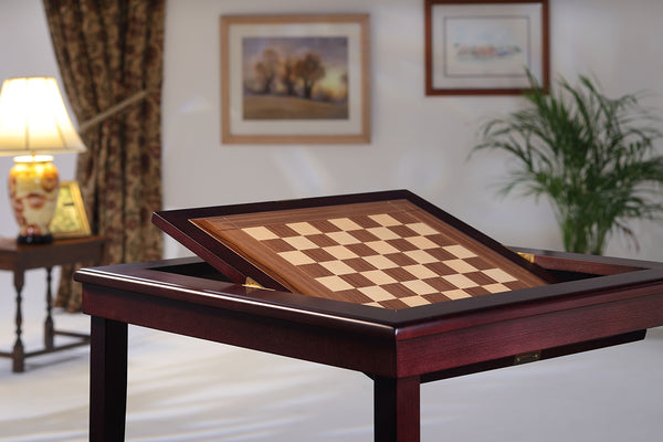 Revolution Folding Bridge and Chess table Hand-made to order