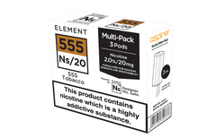 NS20 555 Tobacco eLiquid Pods