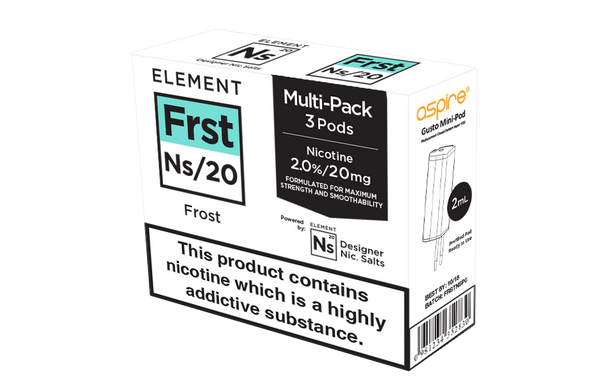 NS20 Frost eLiquid Pods